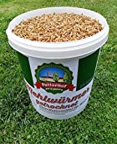 Futterhof getrocknete Mehlwürmer 10ℓ Eimer, GRATIS Versand mit DHL