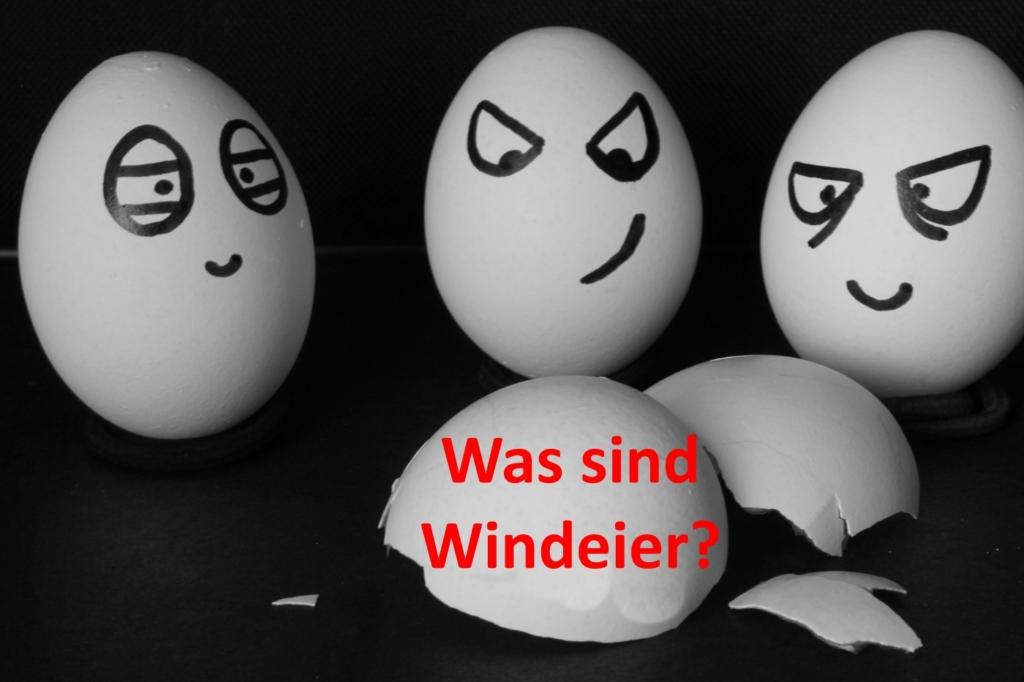 Windeier - Huhn legt Ei ohne Schale?