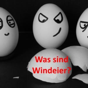 Huhn legt Ei ohne Schale? - Windeier